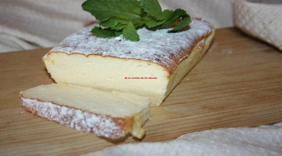 pastel de queso japones