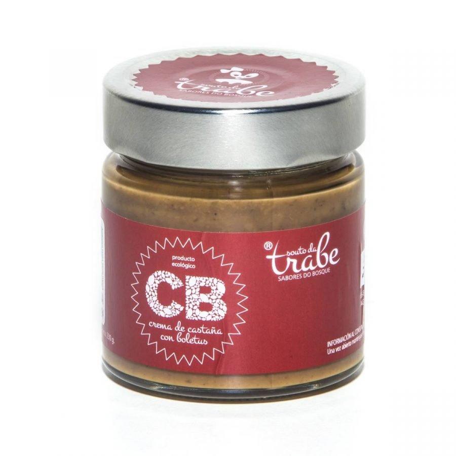 Crema de Castaña con Boletus