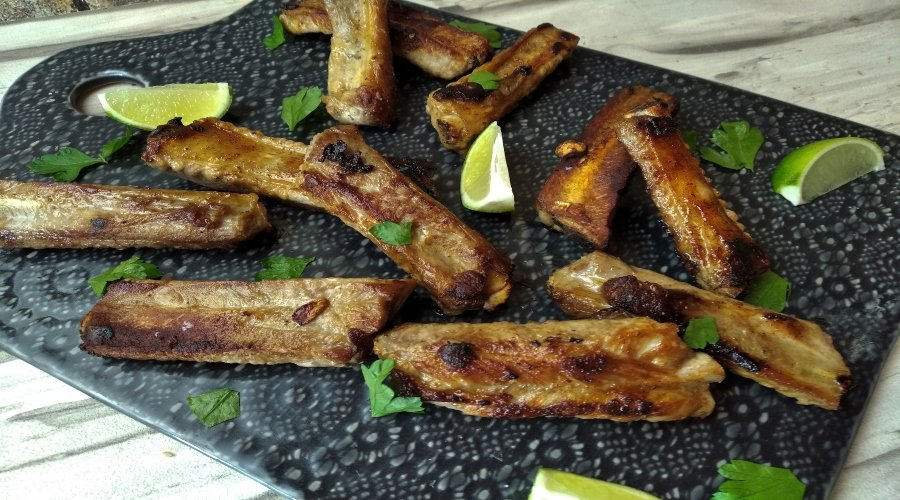costillas de cerdo fritas