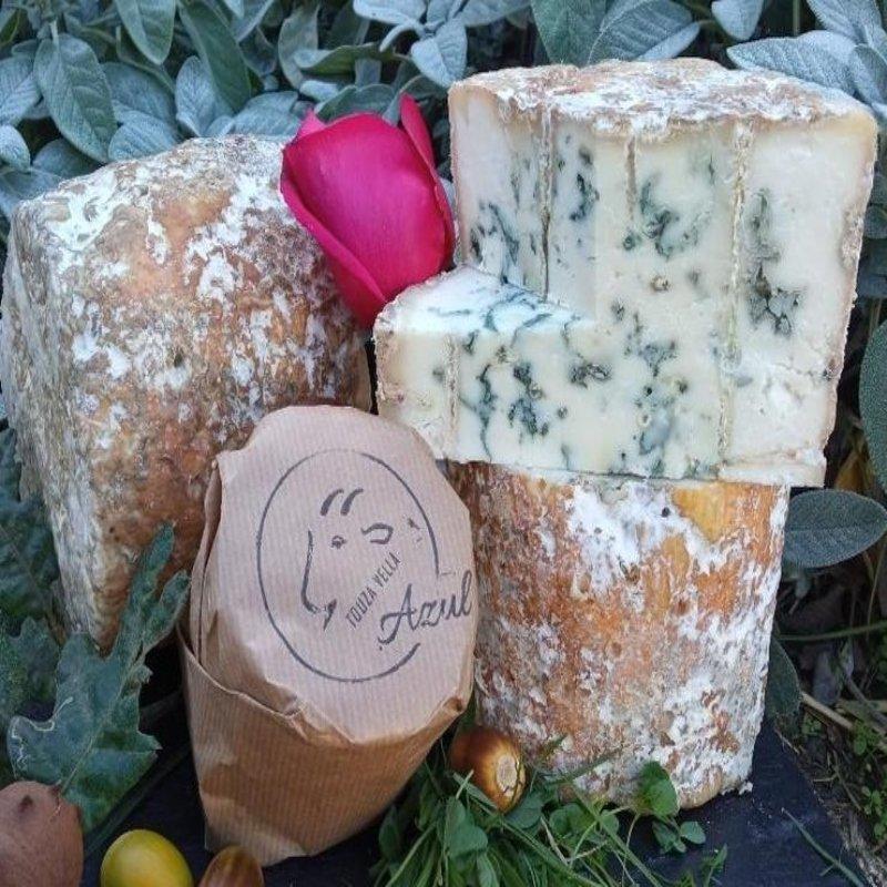 queso azul cabra
